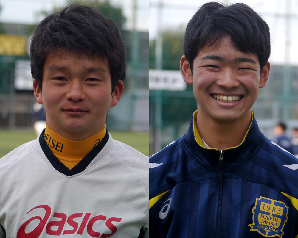 【2019シーズン始動!】静岡の強豪・藤枝明誠サッカー部を選んだ理由は?「『超攻撃的サッカー』に興味を持った」