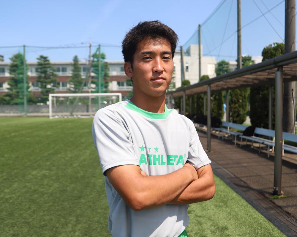 新潟の強豪・帝京長岡高校サッカー部のキャプテンはつらいよ!?「チームを引き締めるために誰よりも早くグラウンドに出て練習の準備をしたり、Aチーム以外の選手のプレーを見てコミュニケーションをとっています」【2020年】