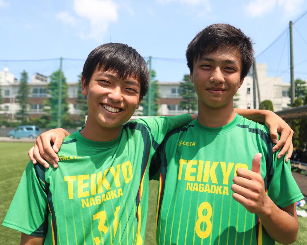 何で新潟の強豪・帝京長岡高校サッカー部を選んだの?「帝京長岡は声出すし、走るし、上手いしみたいな感じで何でもできるチームとして憧れていました」【2020年】