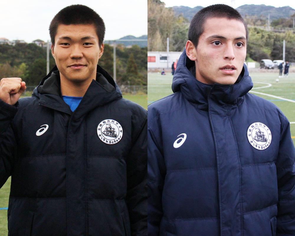 鶴田快聖と国吉シントクは何で長崎の強豪・長崎総科大附サッカー部を選んだのか?【2019年 第98回全国高校サッカー選手権 出場校】