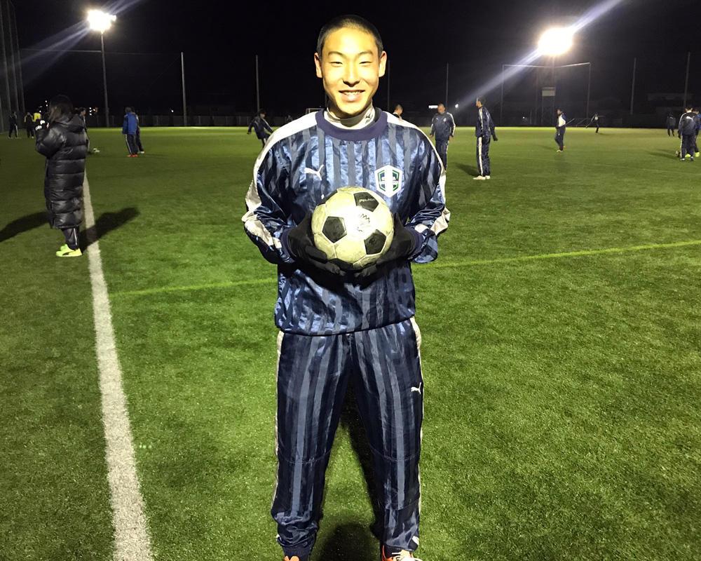 【岡山学芸館高校サッカー部】永田一真のキャプテンはつらいよ!?