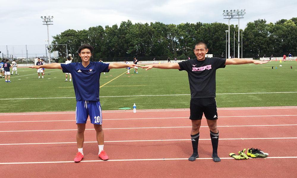 何で神奈川の強豪・日大藤沢サッカー部を選んだの?|斉藤夏、濱中英太郎編【2020年】