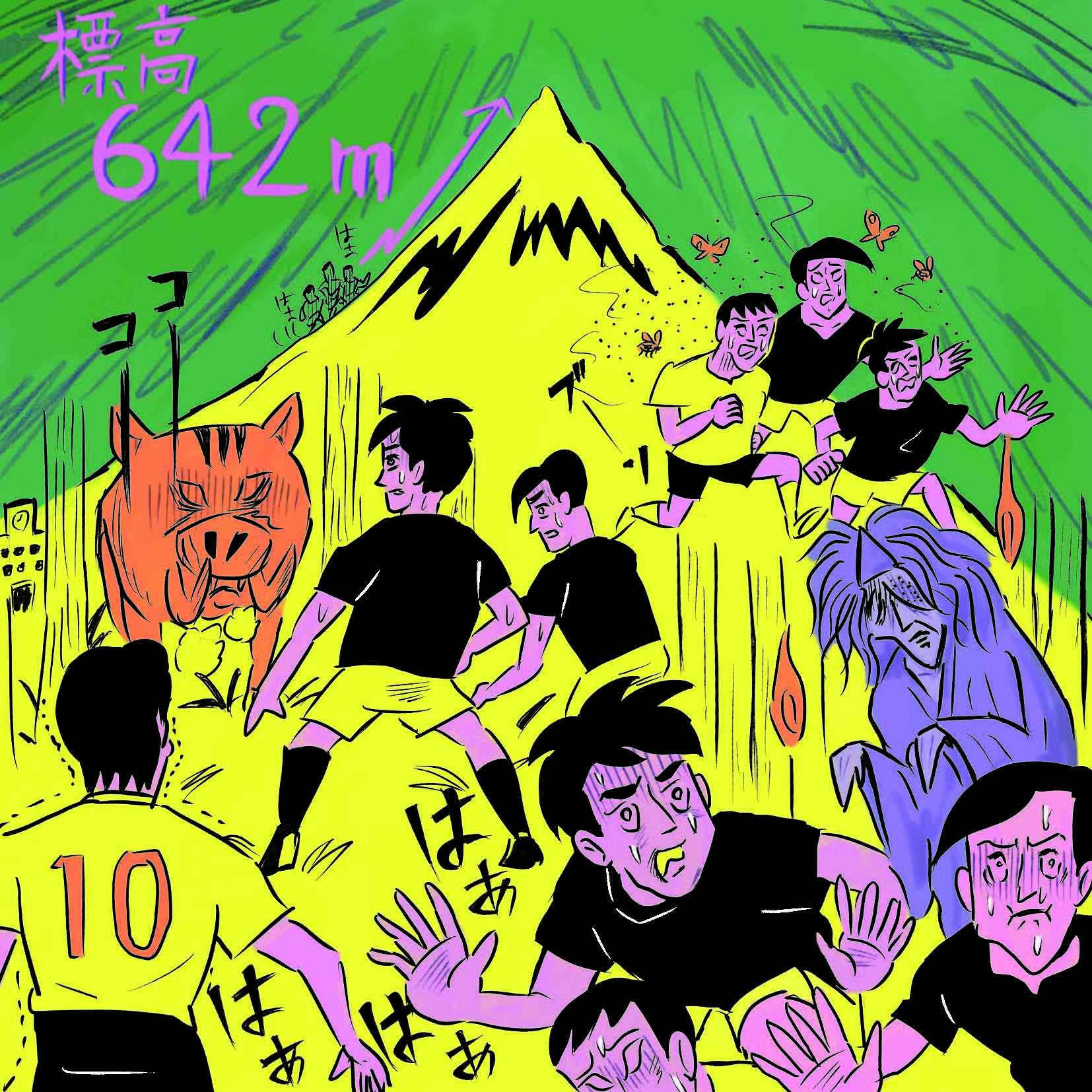イノシシや幽霊とバトル!?大阪桐蔭高校サッカー部のきつい練習に潜入!