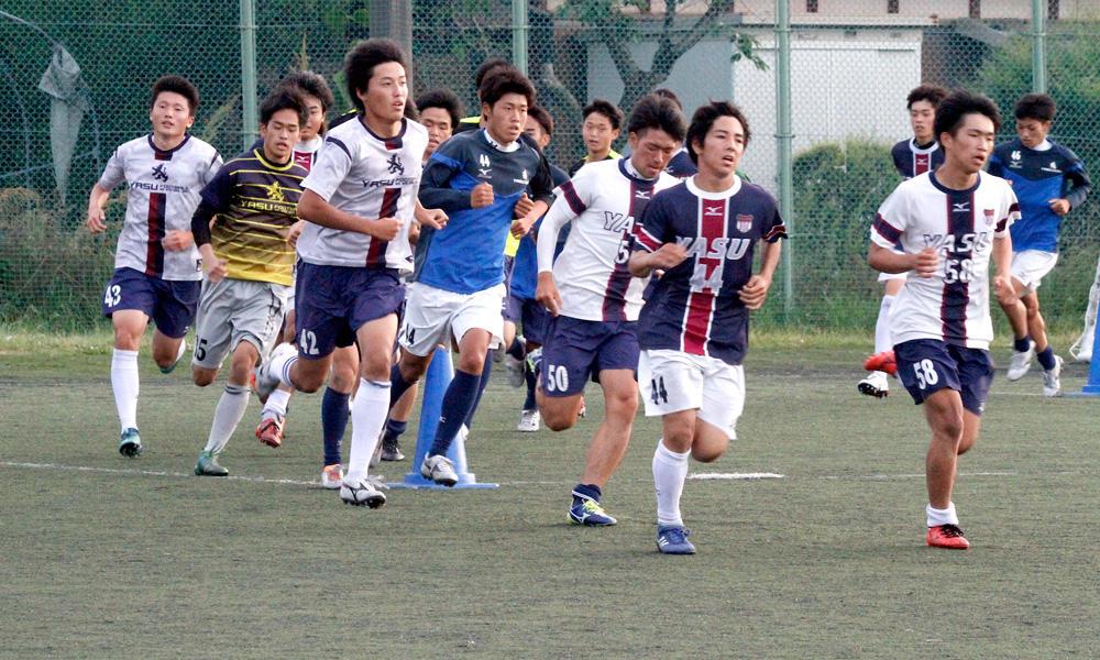 野洲高校サッカー部あるある「実は練習の最後に