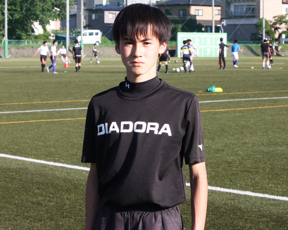 岩手の強豪・遠野サッカー部|髙田遥可の入学から1年たっての自分【2020年】