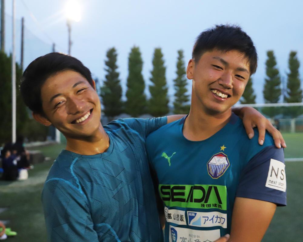 中園享成と鈴木崚加は何で富山の強豪・富山第一サッカー部を選んだのか?【2019年 第98回全国高校サッカー選手権 出場校】