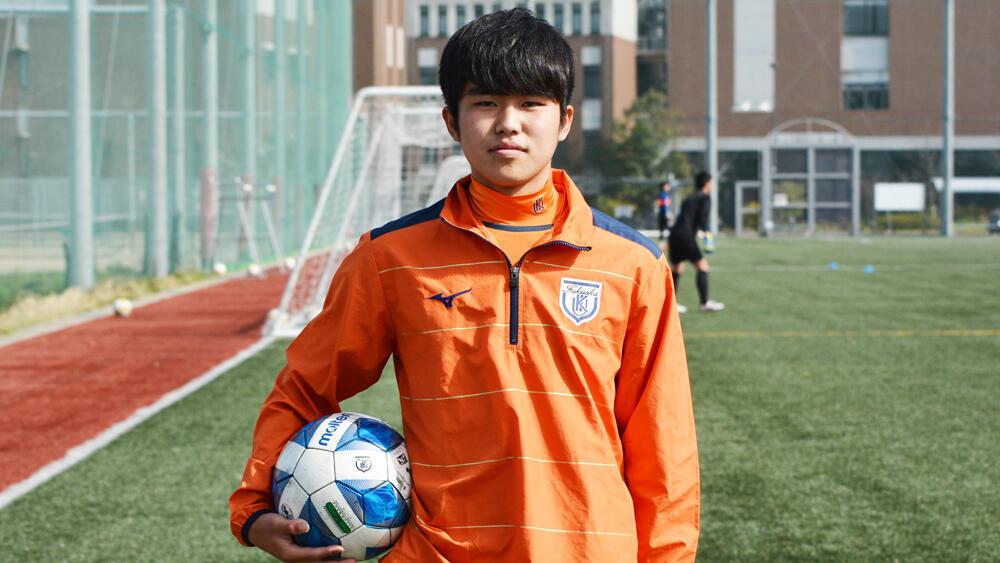 【2021年 始動!】何で福岡の強豪・九州国際大学付属高校サッカー部を選んだの?「目標にしている本山雅志選手がきっかけです。本山選手は自分の母の弟だったので、昔からずっと近くから見ていてお手本にしてきました」