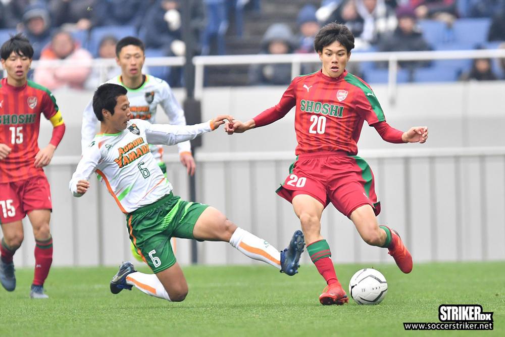 「本当に難しかった」青森山田の攻守の要が尚志の攻撃を冷静に分析【全国高校サッカー選手権】