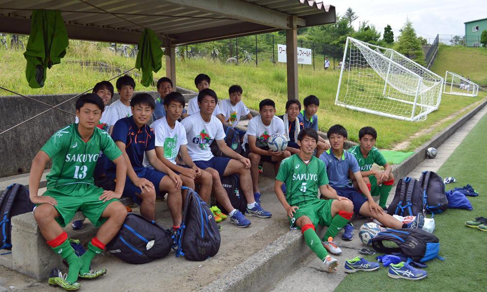 作陽高校サッカー部のメンバー紹介!(プリンスリーグ2018 中国)