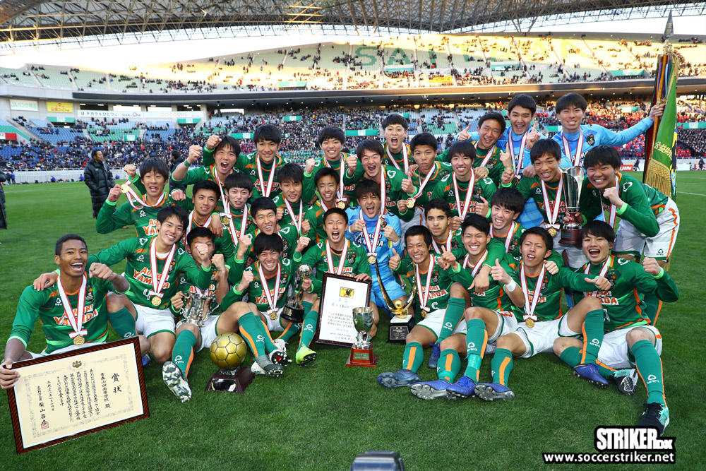 2つの危機を「負けず嫌い」たちが乗り越えた青森山田が2度目の日本一【第97回全国高校サッカー選手権】