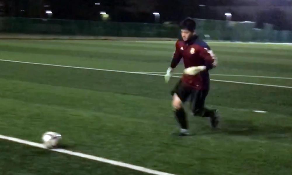 【全国シュートスピード選手権】浦和南高校サッカー部がチャレンジ!