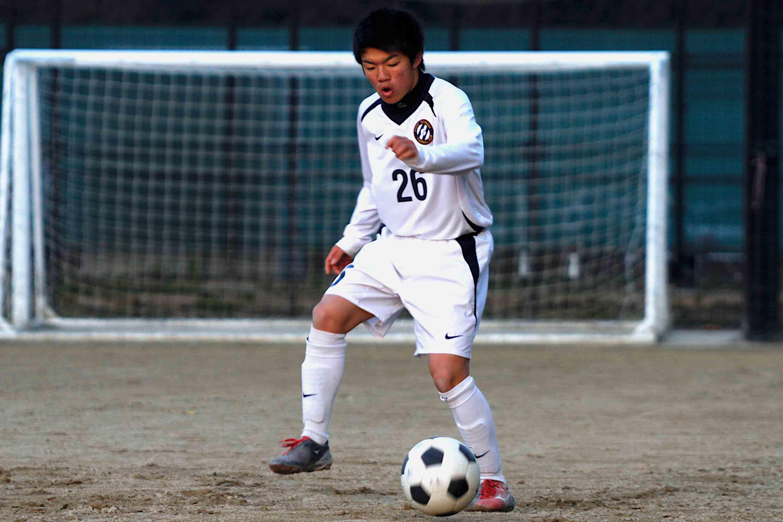 京都橘高校のFW篠永雄大が気になるのは東福岡高校の野寄和哉
