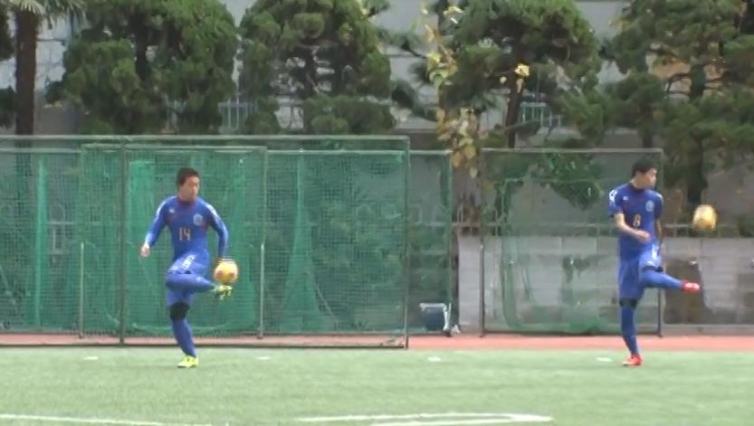 関西のバルサと異名をとる興國高校サッカー部の練習に潜入!リフティング編