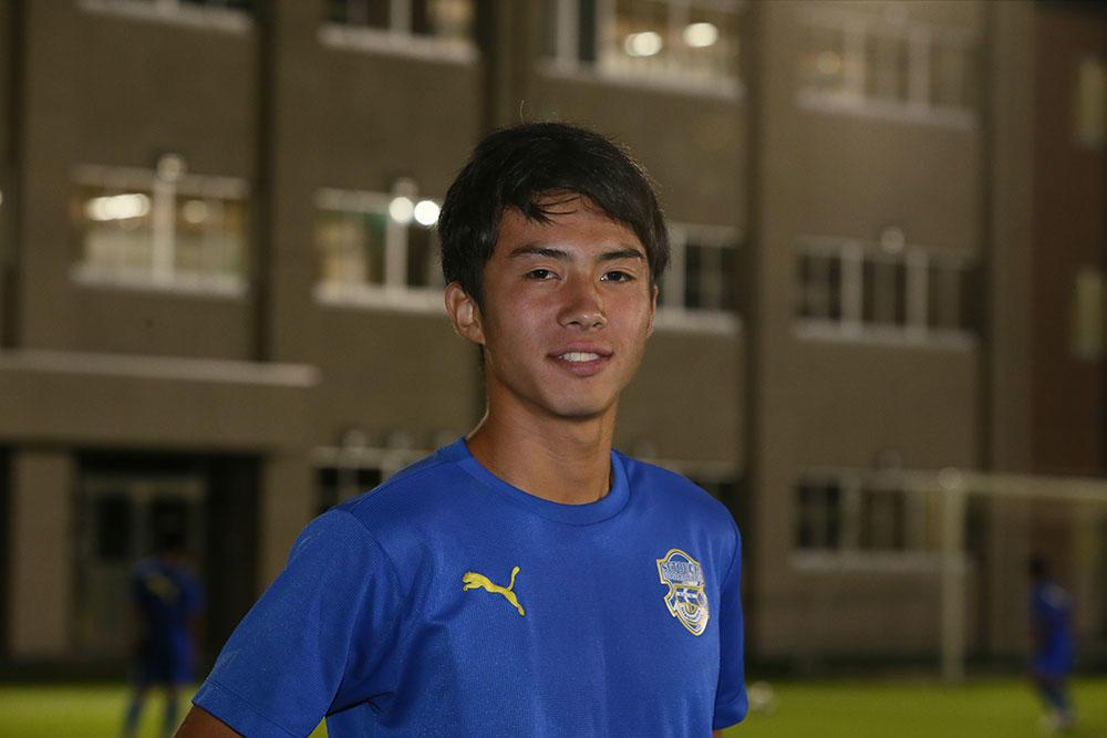 瀬戸内高校の安部裕葵が気になる選手はFC東京U-18の岡崎慎選手