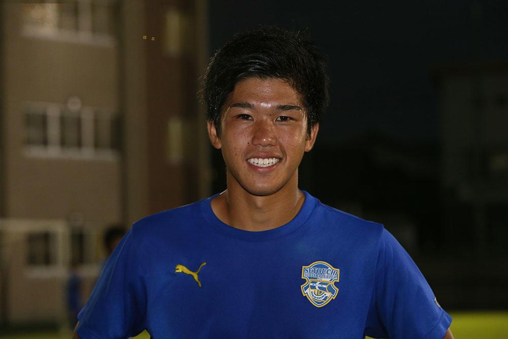 瀬戸内高校のMF浅野嵩人が気になる選手は広島皆実高校の藤井敦仁選手