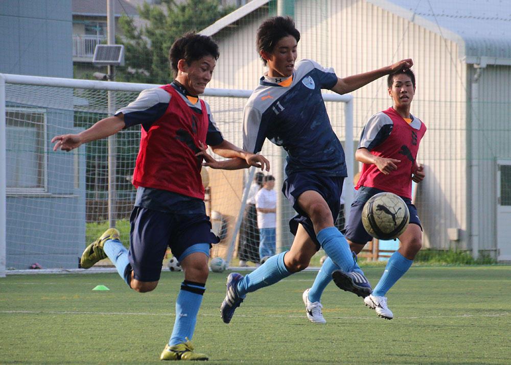大切なのは、考えながら動くこと!四国を代表するチーム、徳島市立高校の練習に潜入!