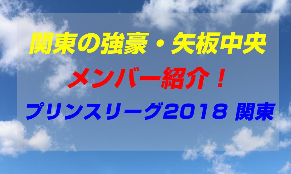 矢板中央高校サッカー部のメンバー紹介!(プリンスリーグ2018 関東)