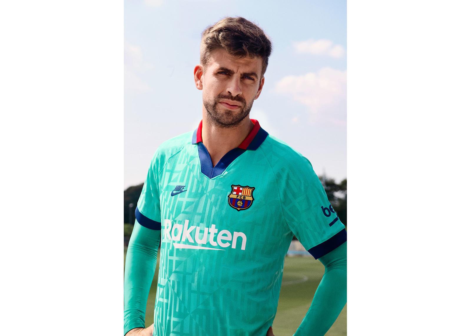 【FCバルセロナ】2019-20シーズンのサードキット クラブの旧ユニフォームを再現
