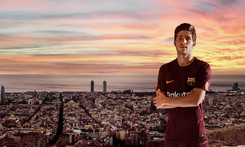 FCバルセロナ 2017-18サードキット発表!