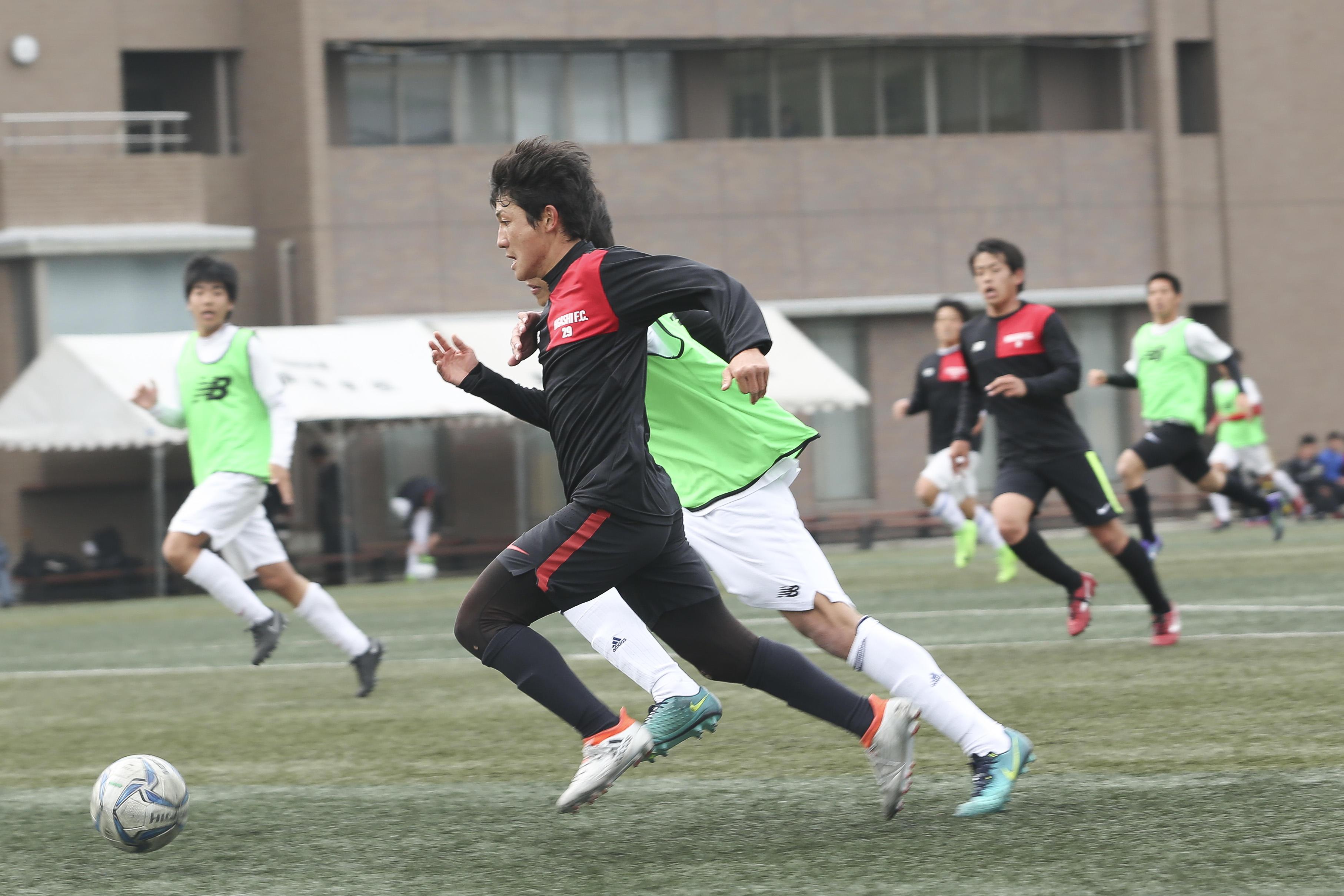 東福岡サッカー部の練習&紅白戦に潜入!-POCARI SWEAT SPECIAL SESSION