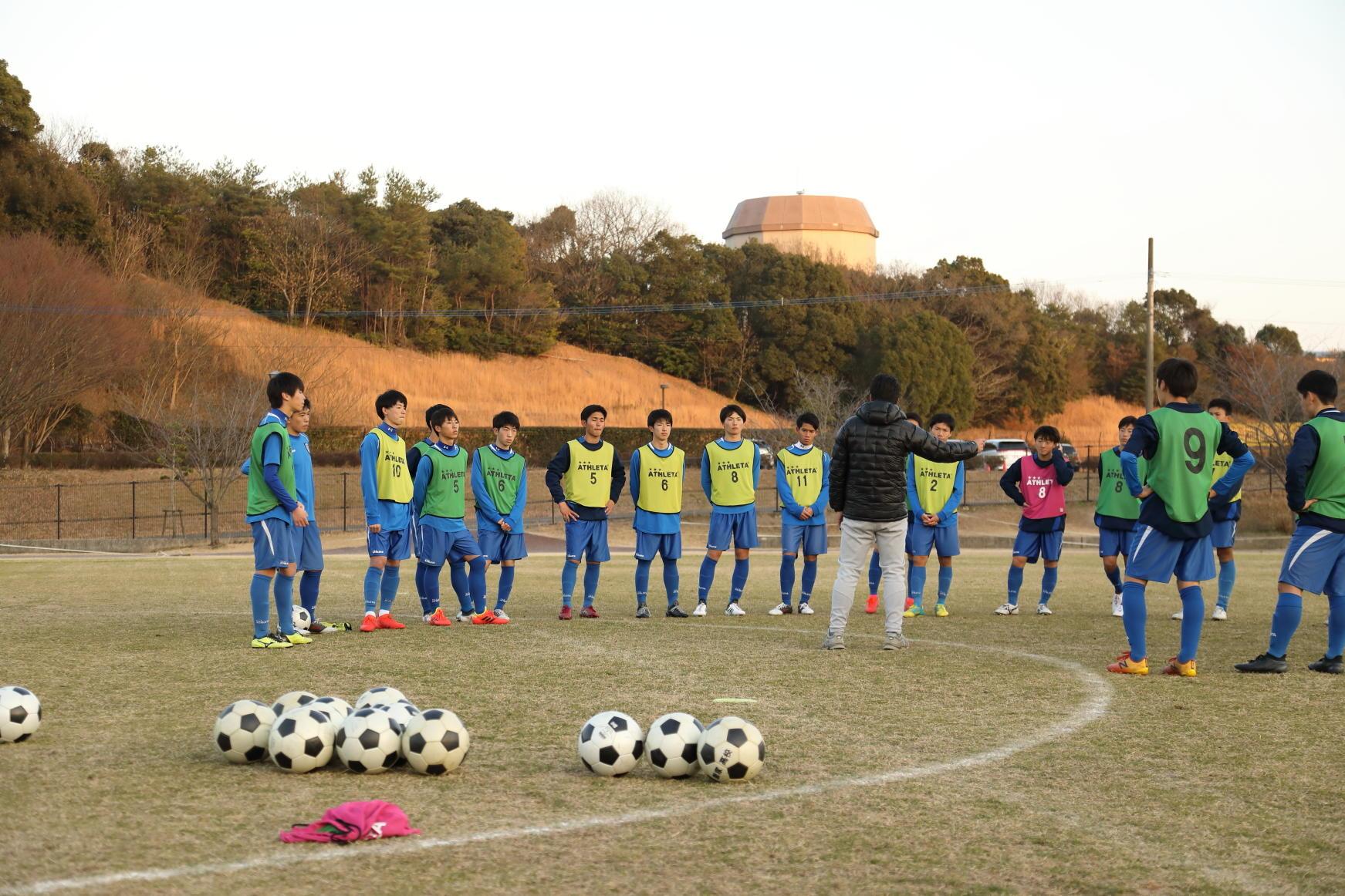 飯塚高校サッカー部の練習に潜入!-supported by Amino VITAL