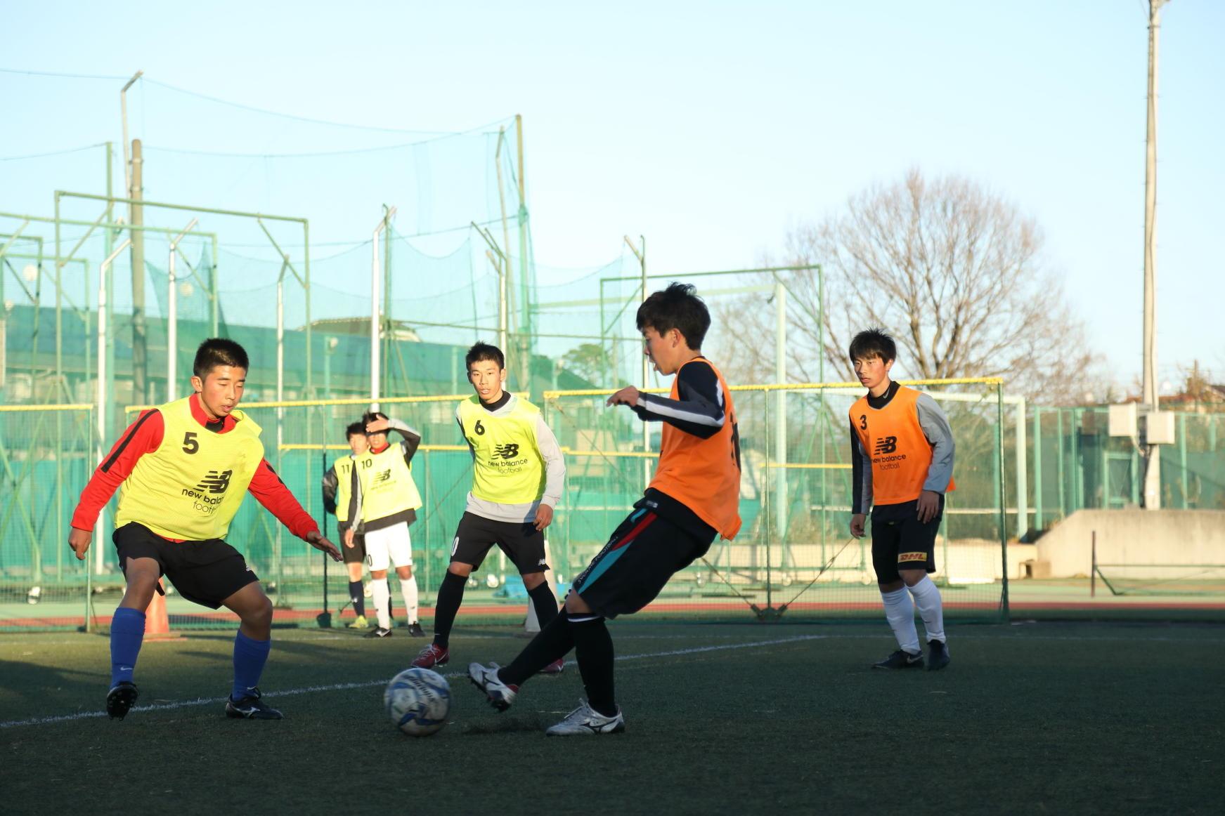 昌平高校サッカー部の練習に潜入!-supported by Amino VITAL