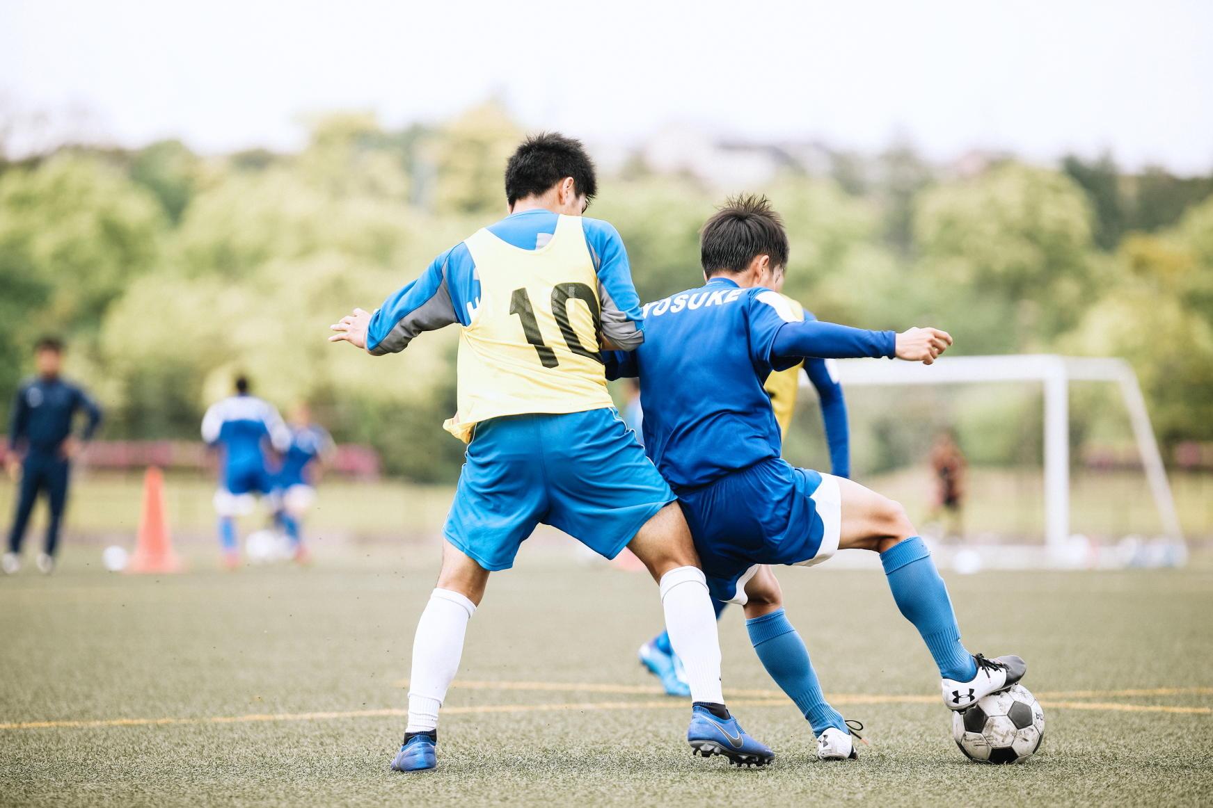 鹿児島城西高校サッカー部の練習に潜入!-supported by Amino VITAL