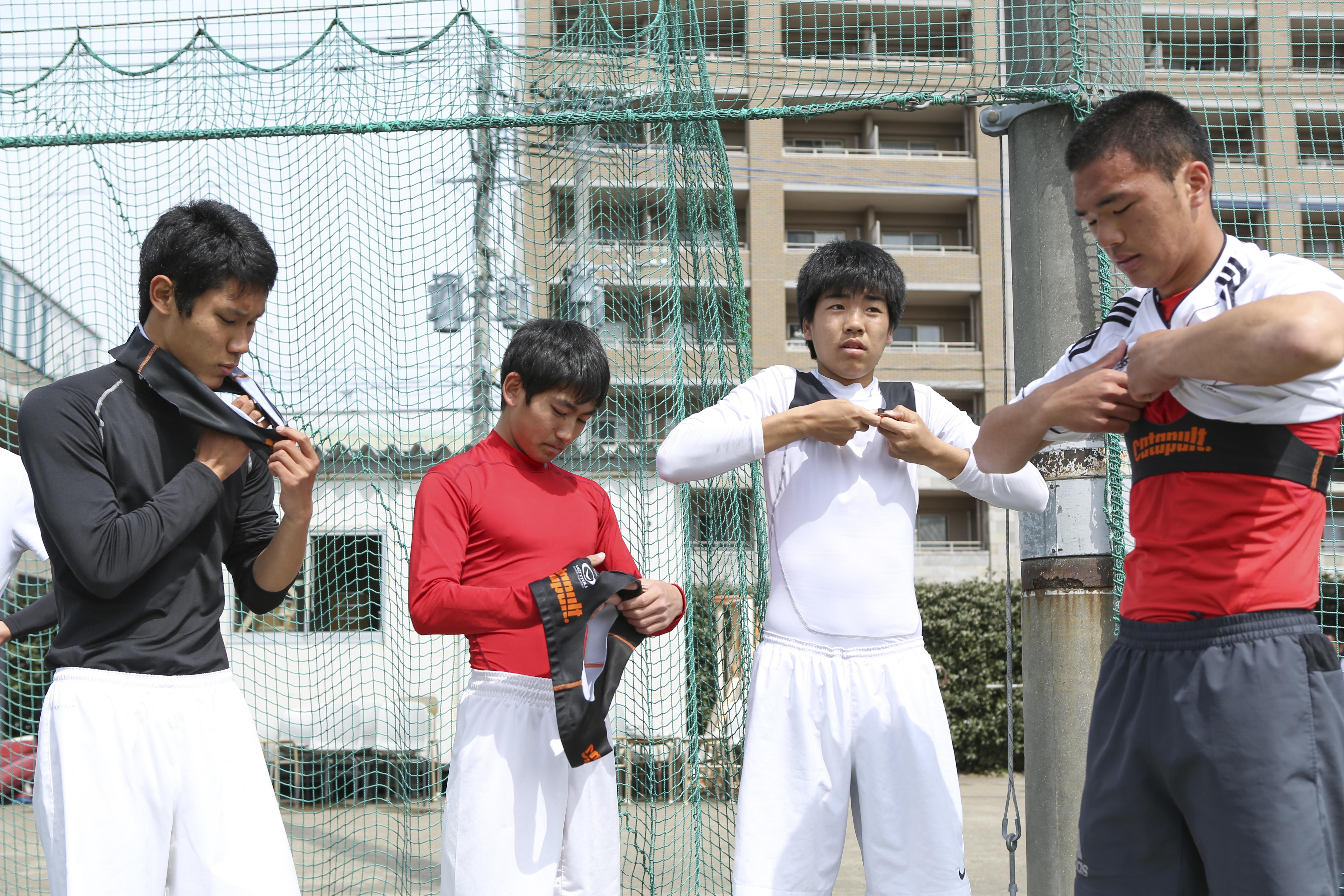 東福岡サッカー部、試合中の動きをデータでつかむ-POCARI SWEAT SPECIAL SESSION