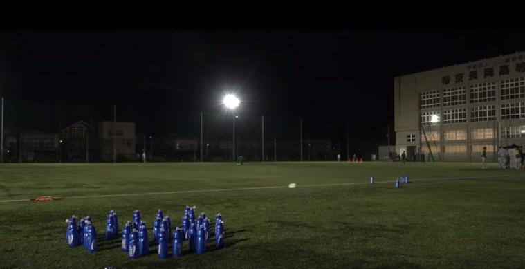 帝京長岡高校サッカー部が取り組む1タッチパストレーニング-POCARI SWEAT SPECIAL SESSION-