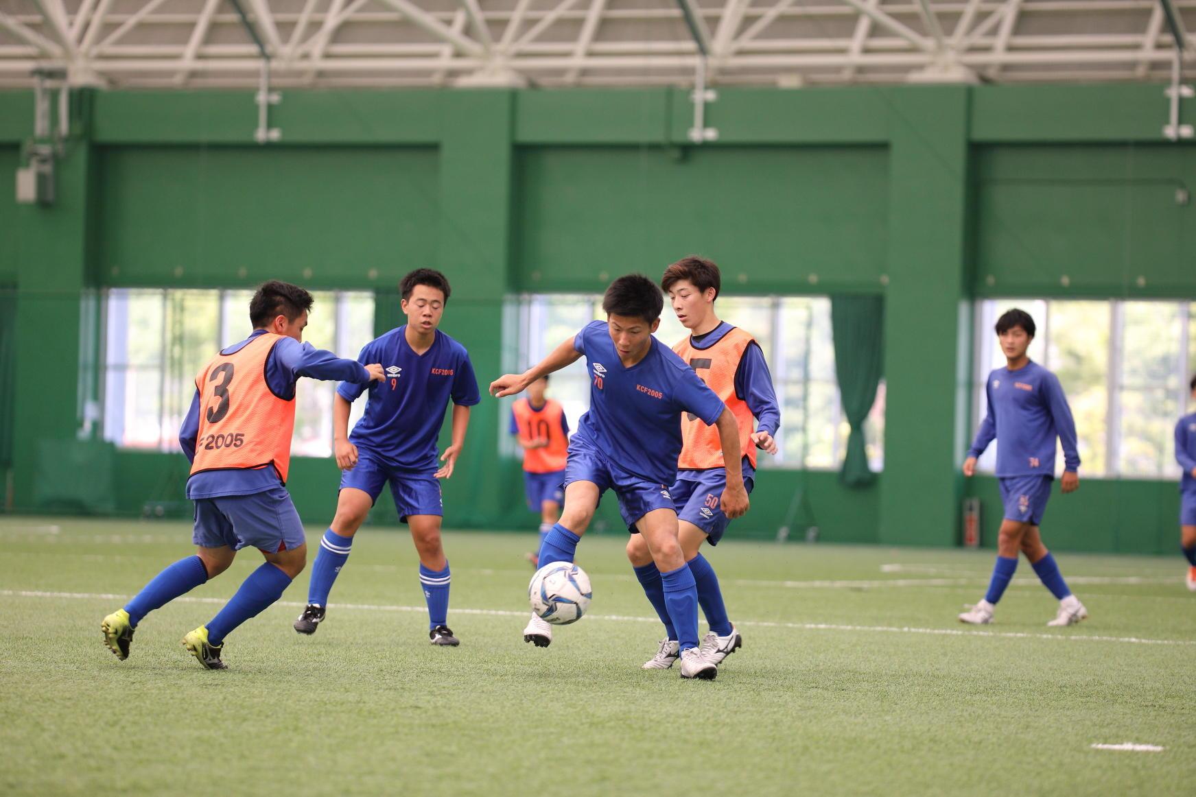 高知中央高校サッカー部の練習に潜入!-supported by Amino VITAL