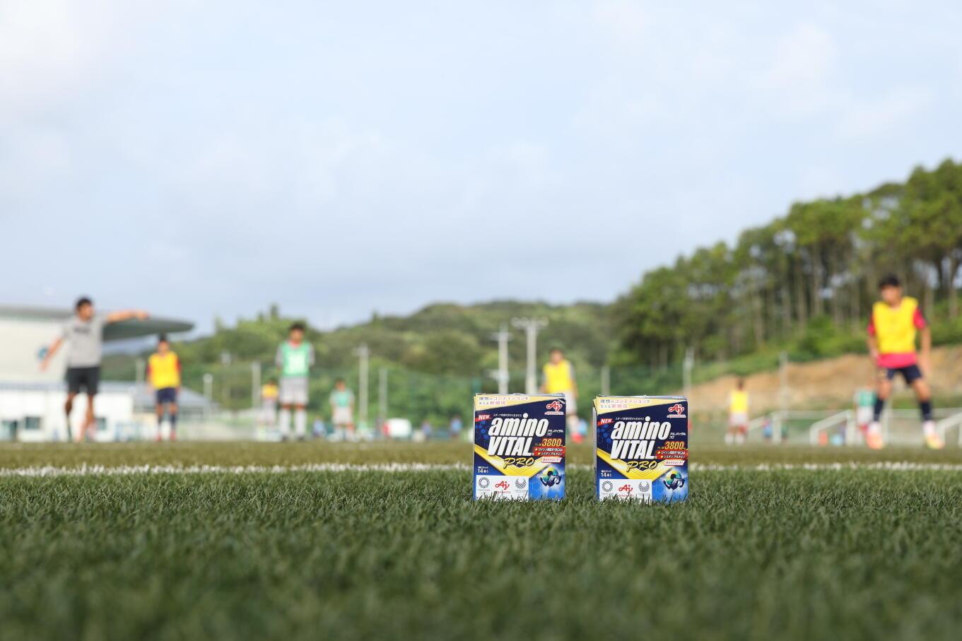 神村学園サッカー部の練習に潜入!-supported by Amino VITAL